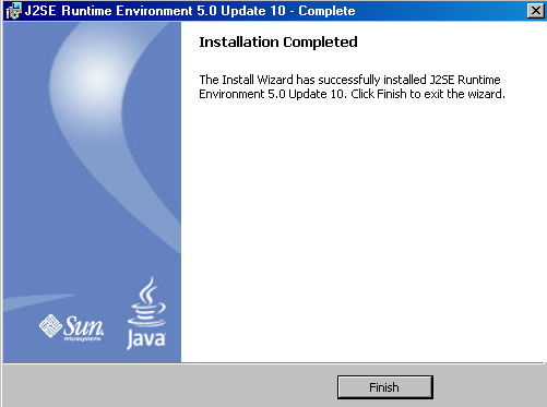 2-How to install J2SE Runtime Environment